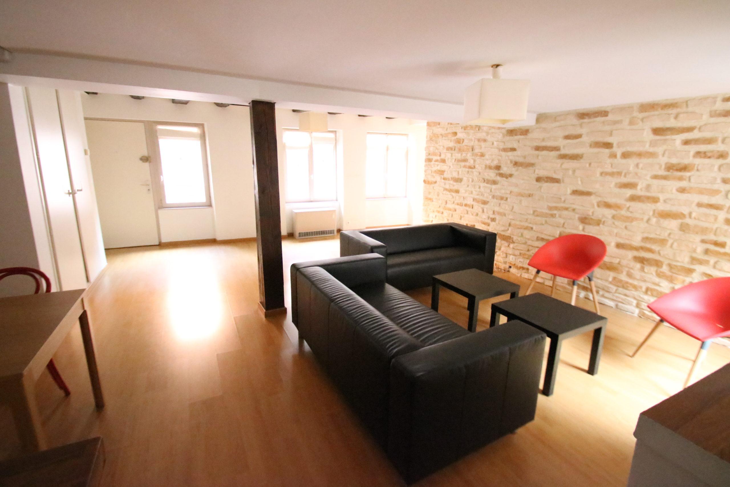 Joli 3 pièces 88m² meublé en hyper centre de STRASBOURG
