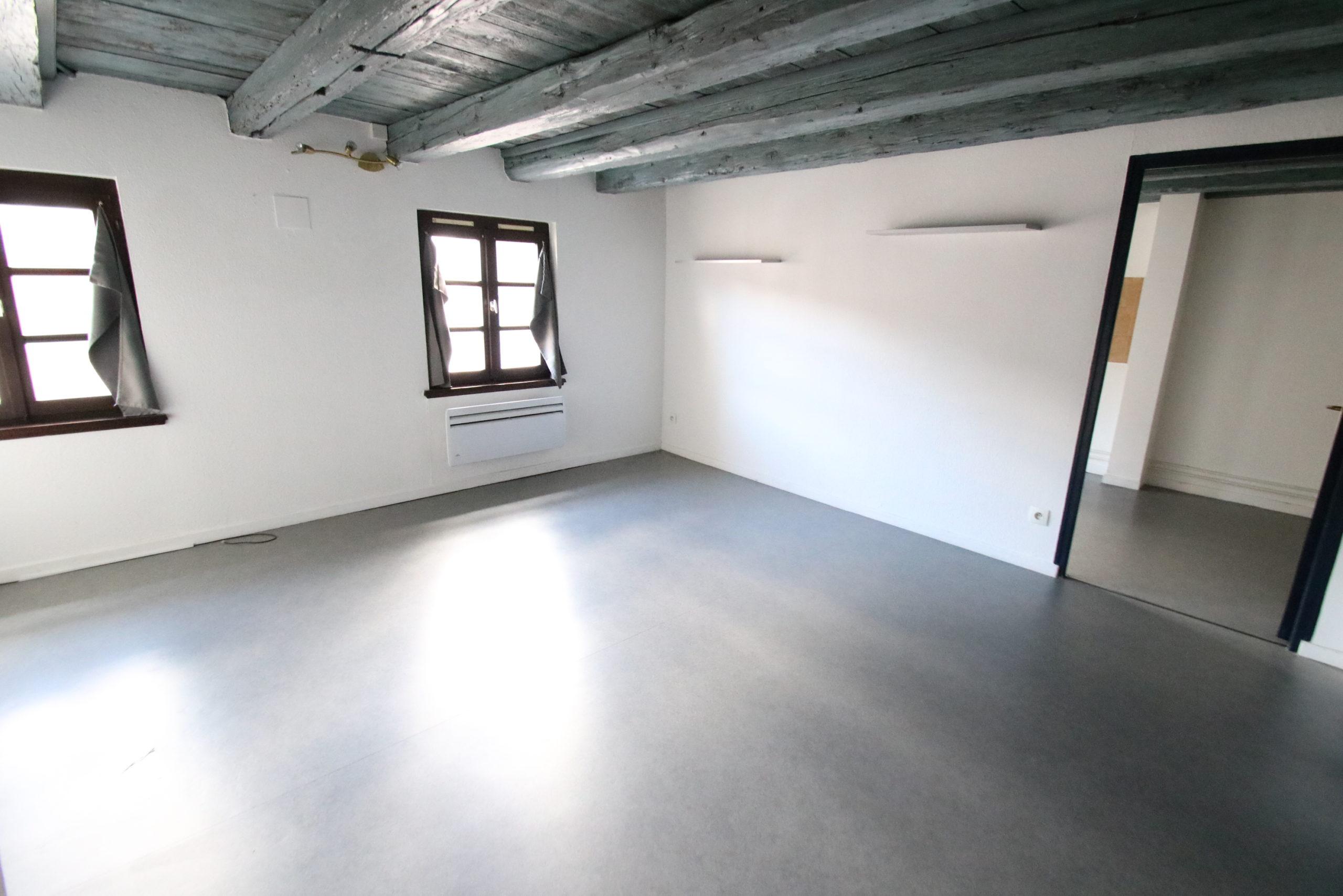 Joli 2 en duplex pièces 38.7m² à la Krutenau