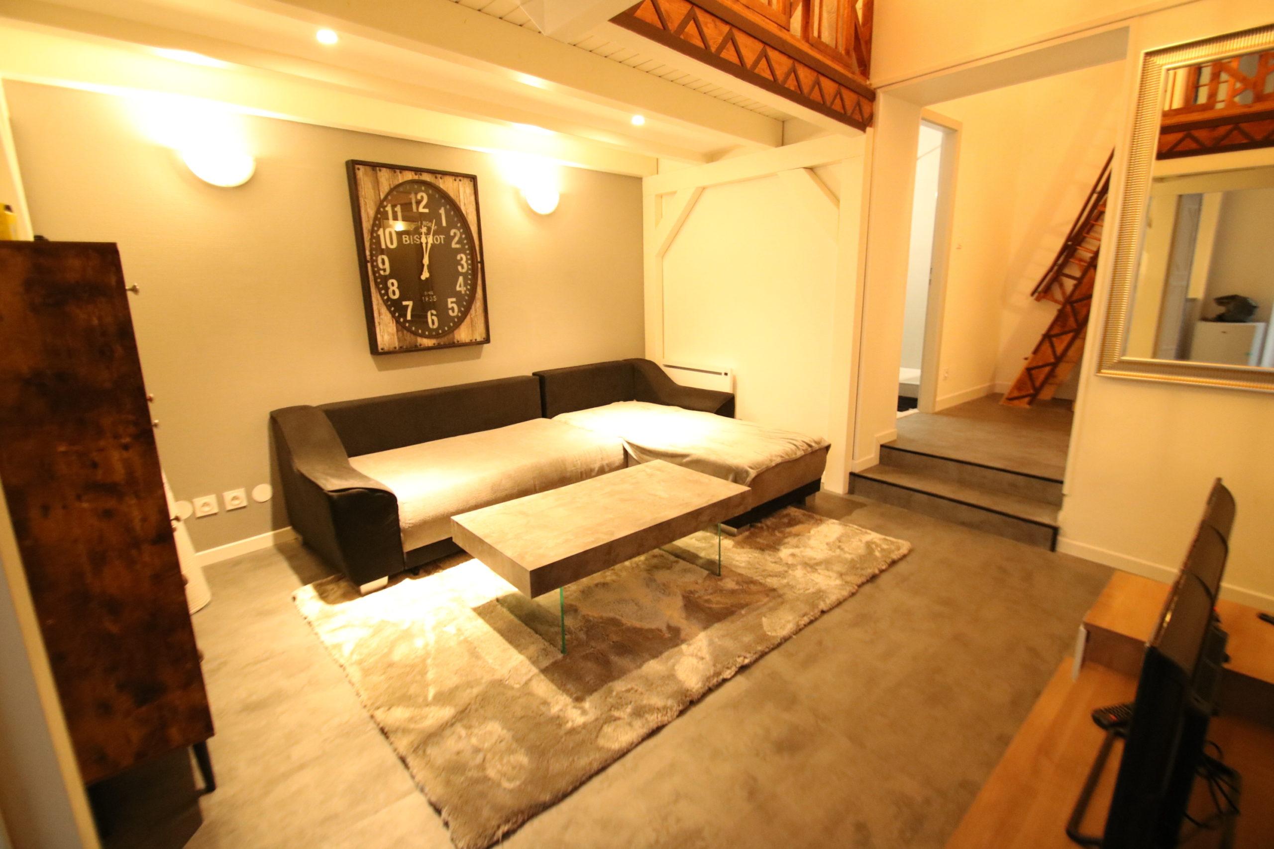 Magnifique 2 pièces 44.9m² meublé en duplex en hyper centre de STRASBOURG