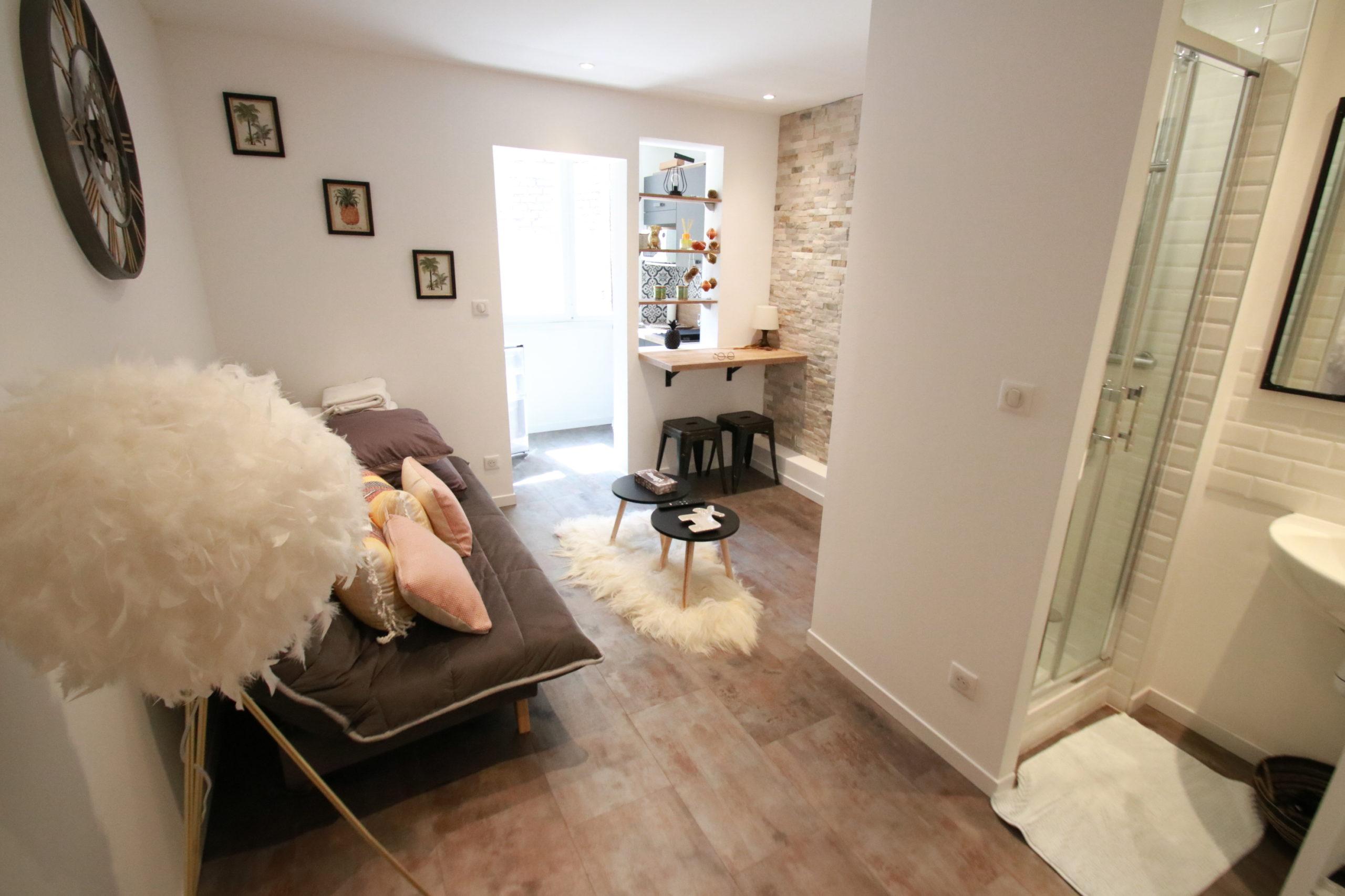 Magnifique studio 17m² meublé Quartier Forêt Noire à STRASBOURG