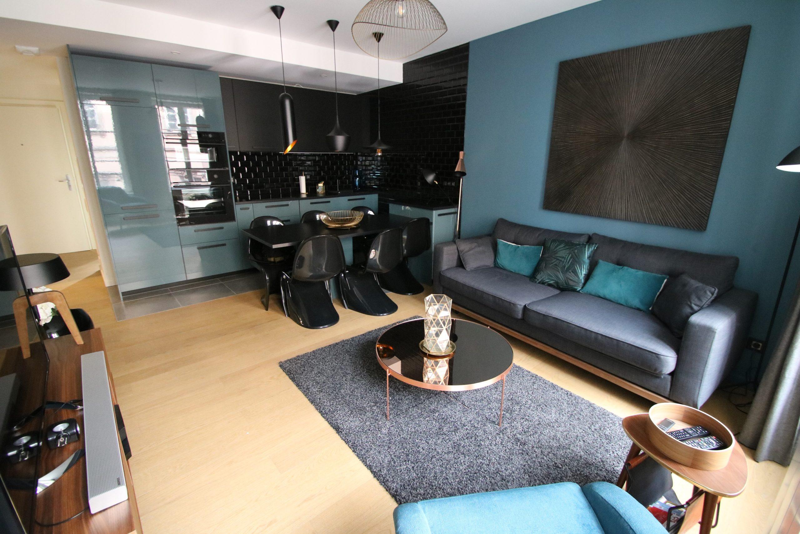 Exceptionnel 3 pièces meublé 58.9m² à la Krutenau