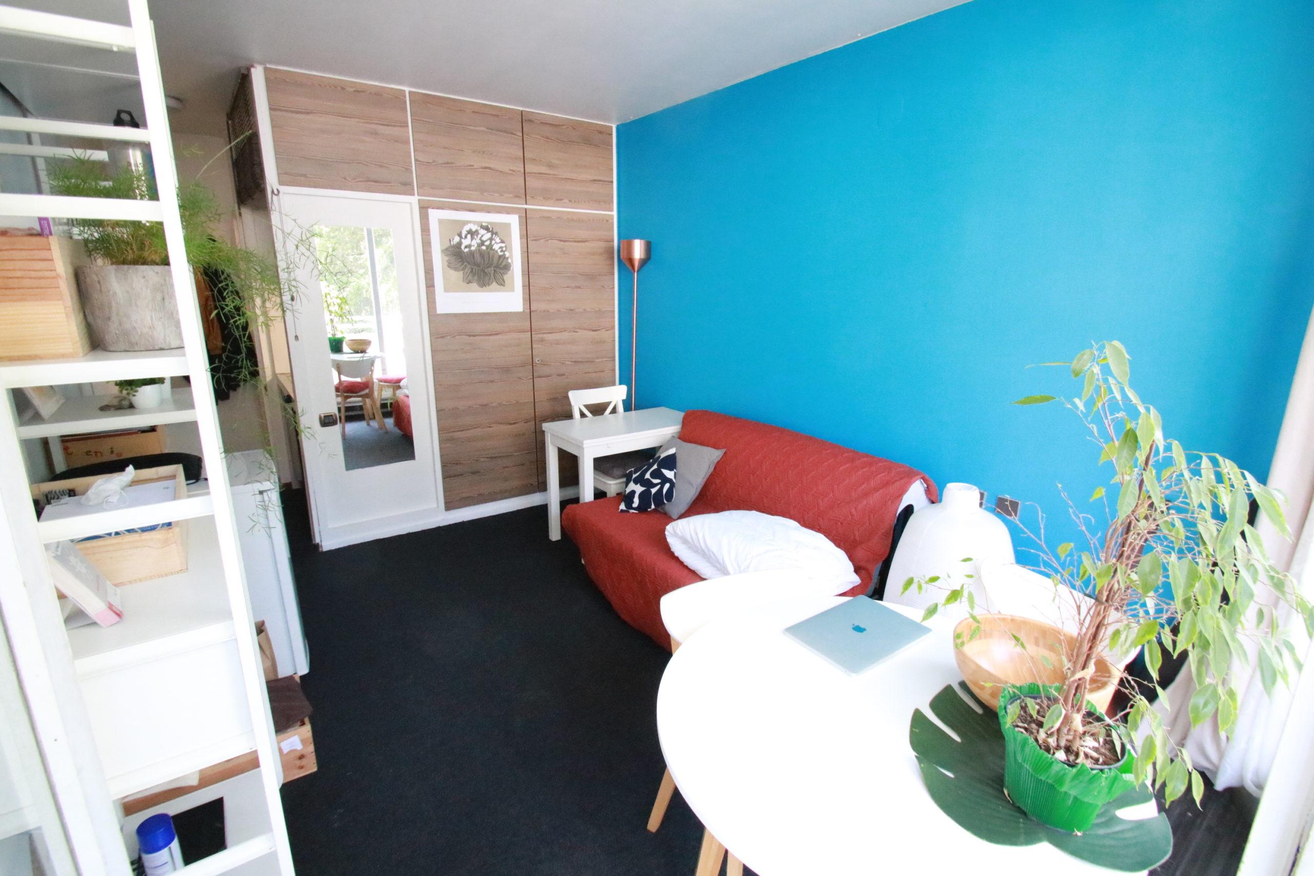Joli studio 17.2m² meublé à l'Orangerie