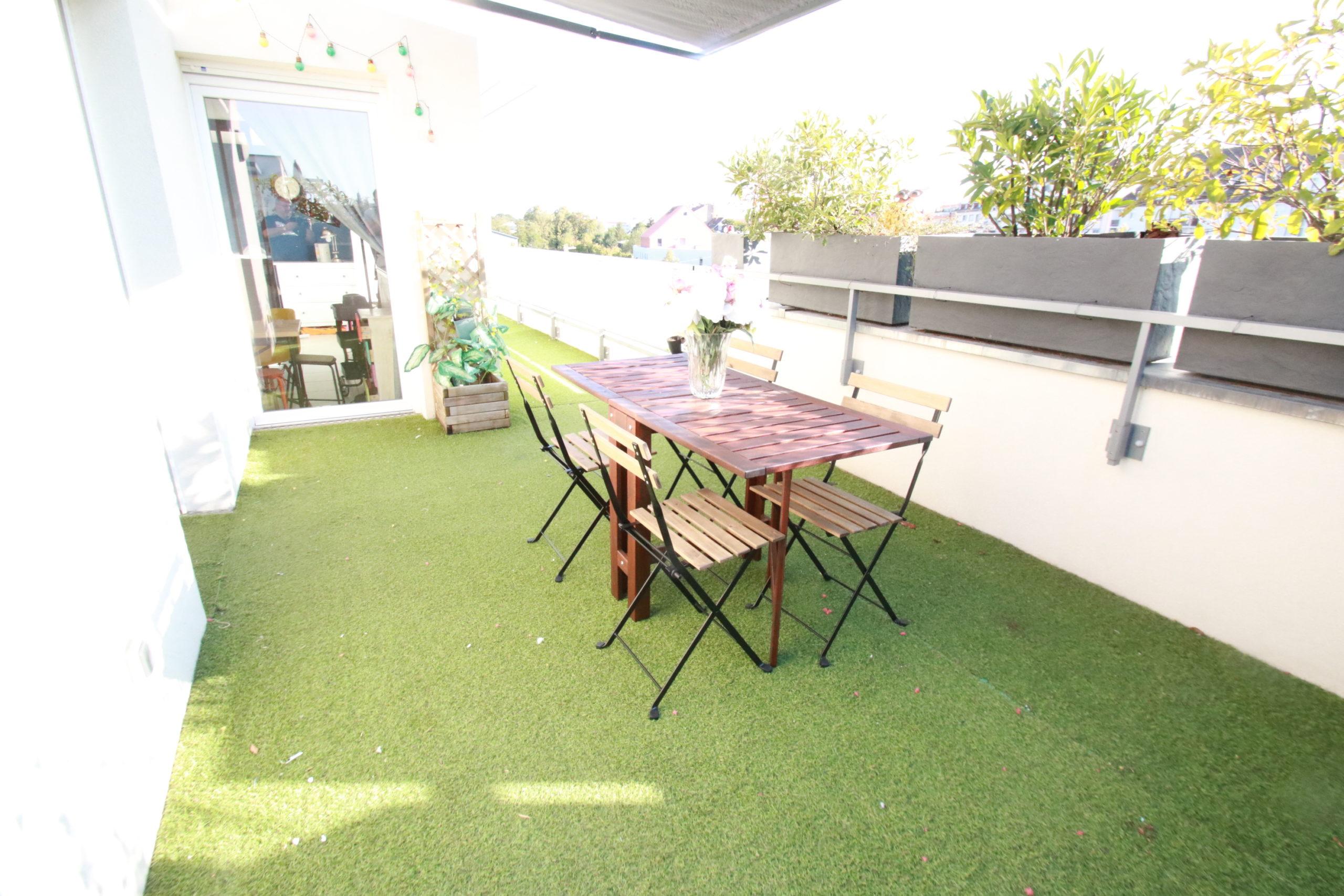 Neuhof Village, ATTIQUE 3 pièces , Terrasse 35 m2
