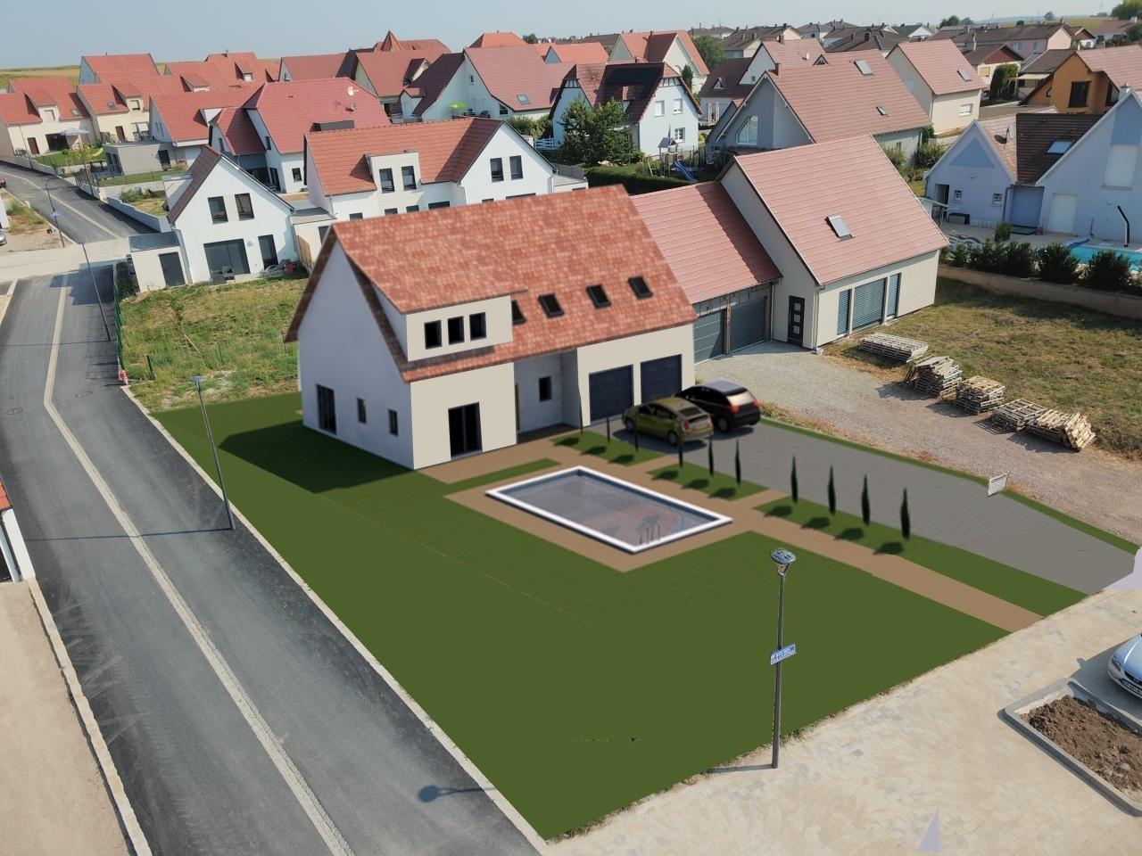 Superbe Maison neuve de 148 m² de 6 pièces avec piscine.