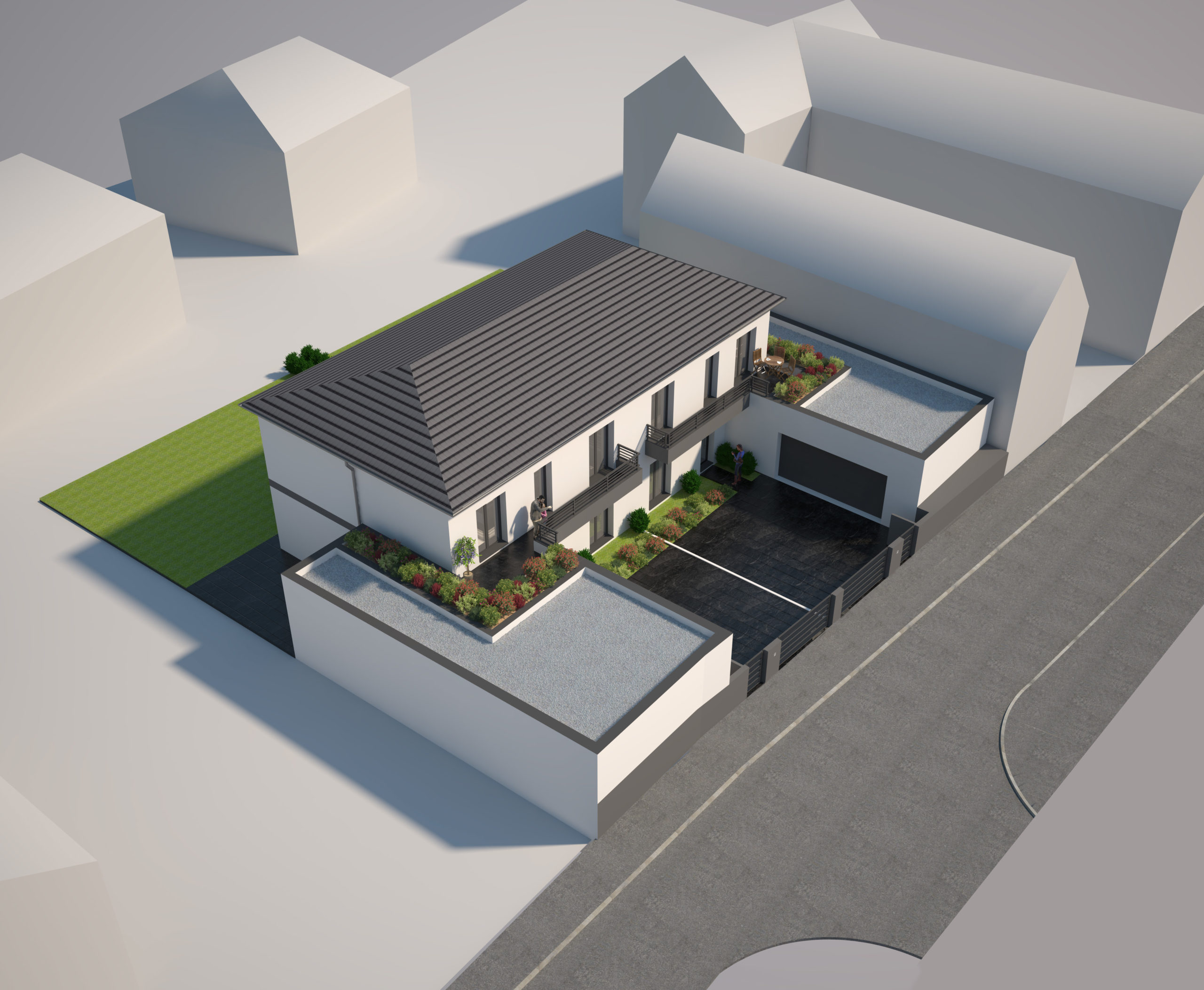 Oberhausbergen, Superbe Maison neuve de 138 m² avec jardin
