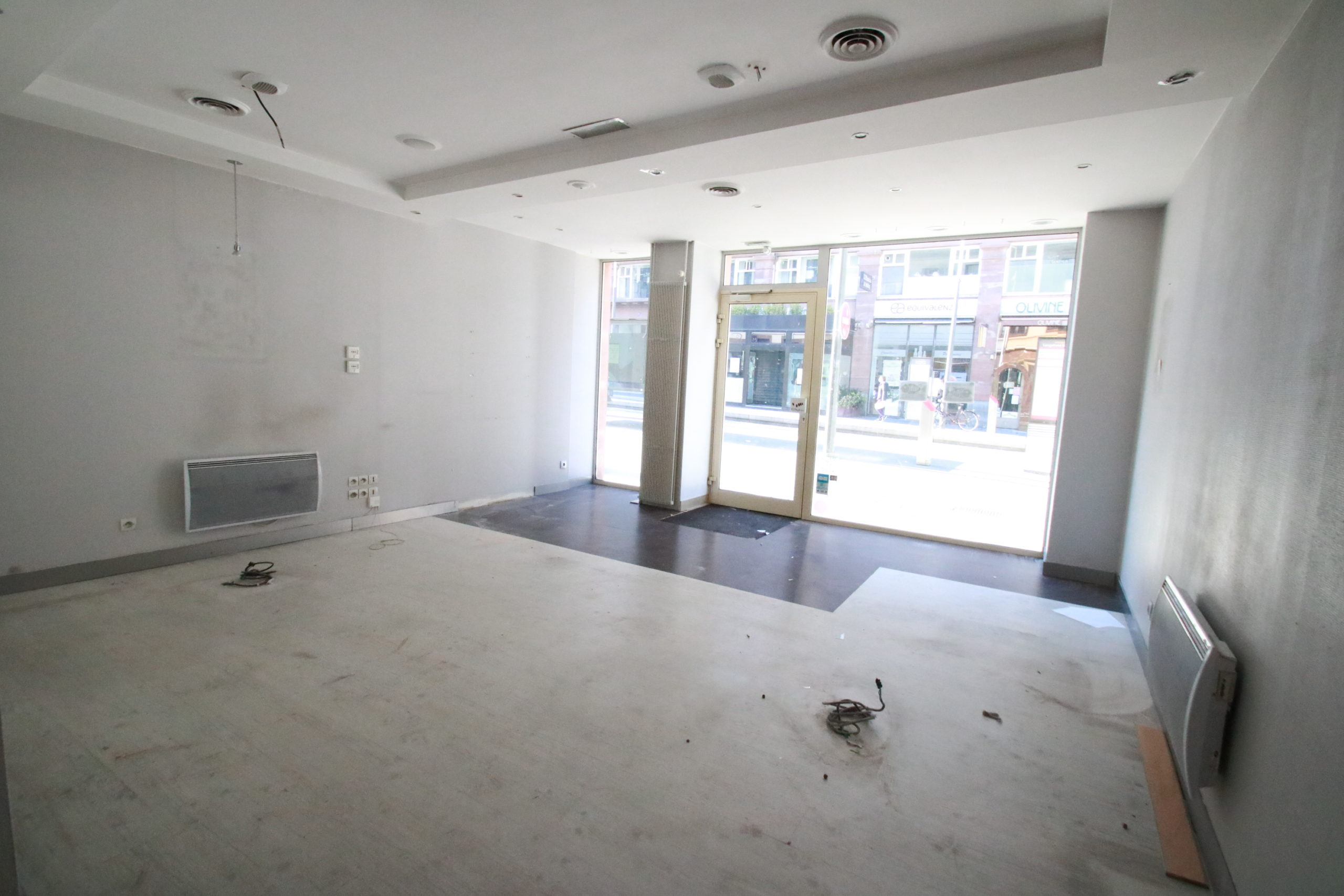 Local commercial 44m² avec vitrine en hyper centre de STRASBOURG