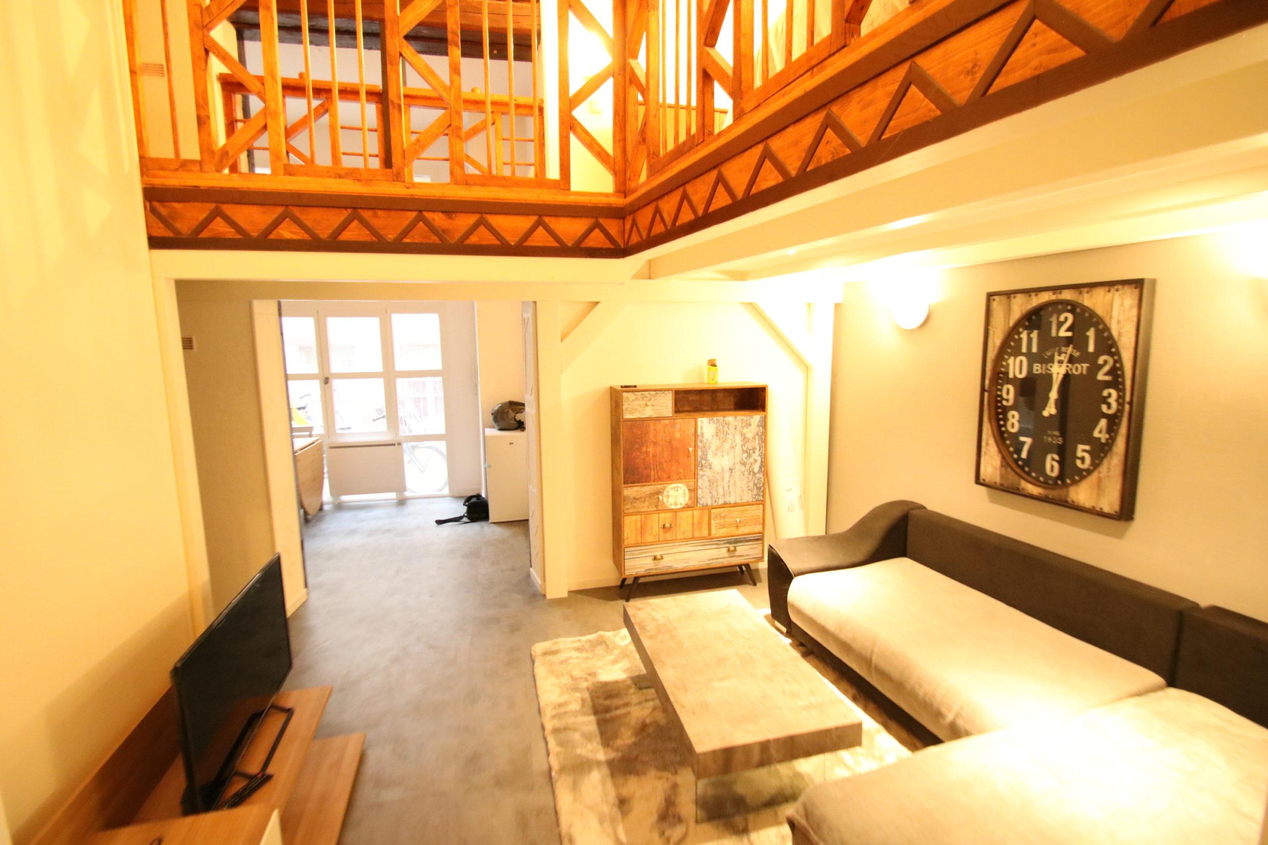 Magnifique 2 pièces 44.9m² meublé Grand Rue