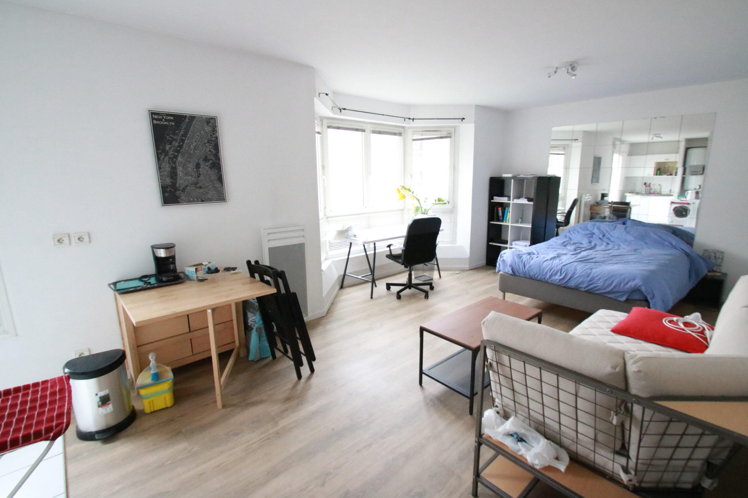 Magnifique studio 28.6m² Place des Bateliers à STRASBOURG