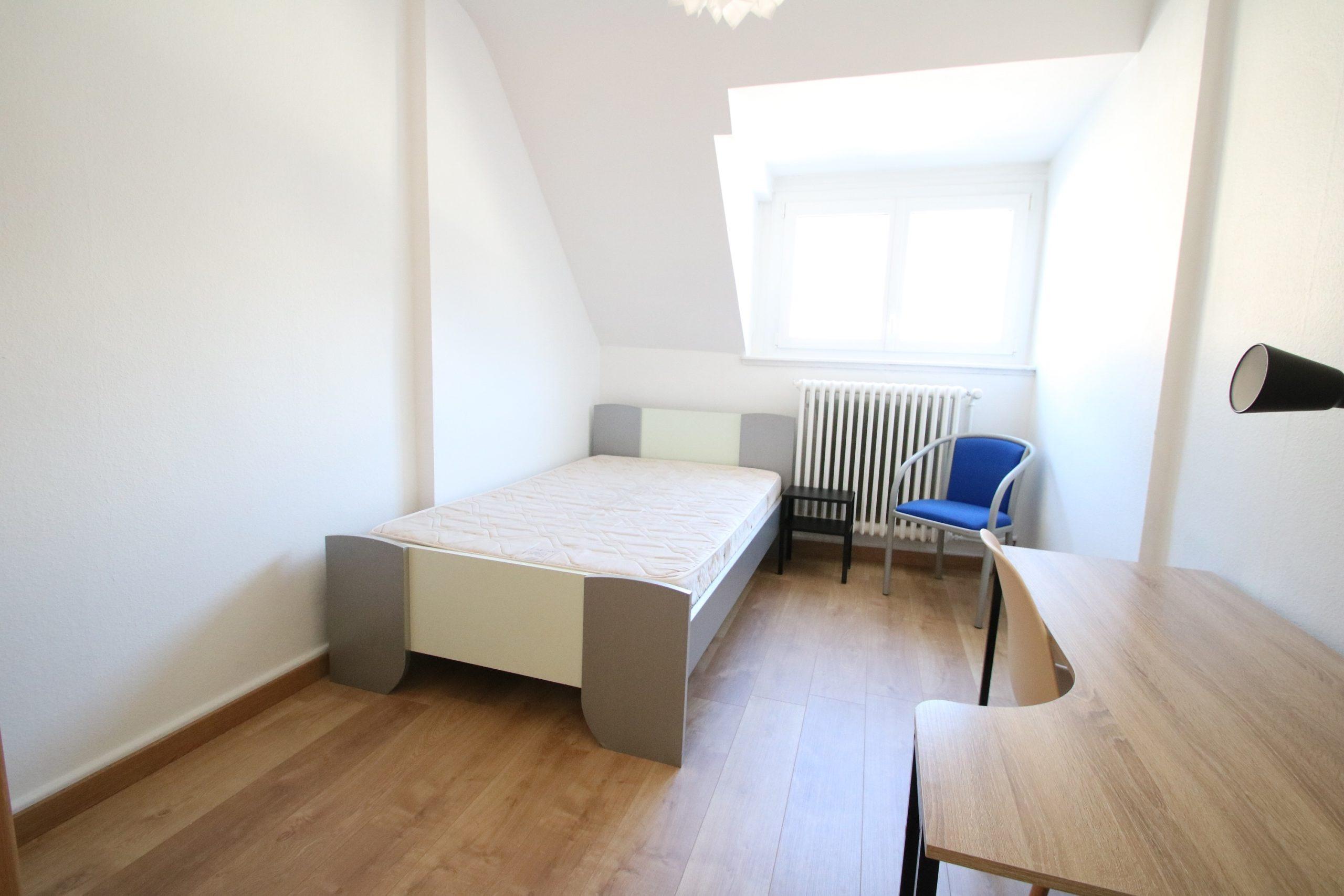 Chambre étudiant 9.69m² meublé Quartier Université