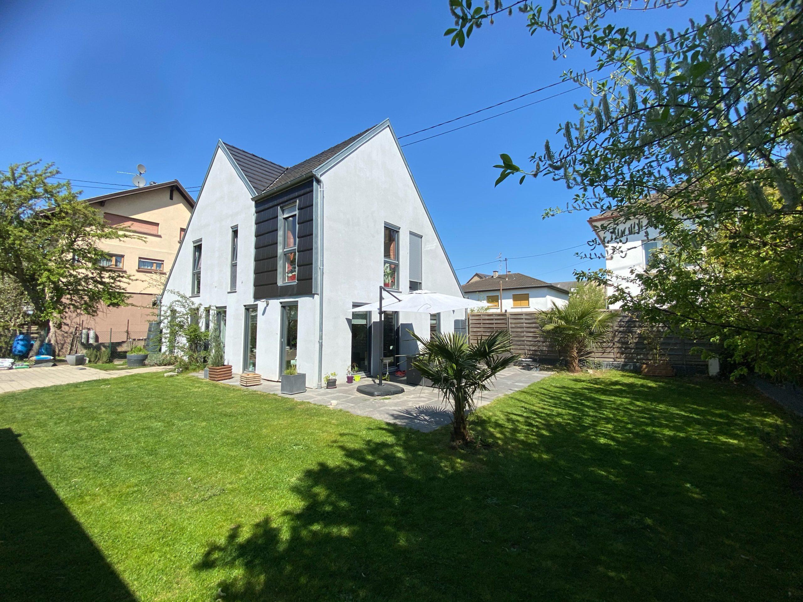 Maison moderne à Lingolsheim
