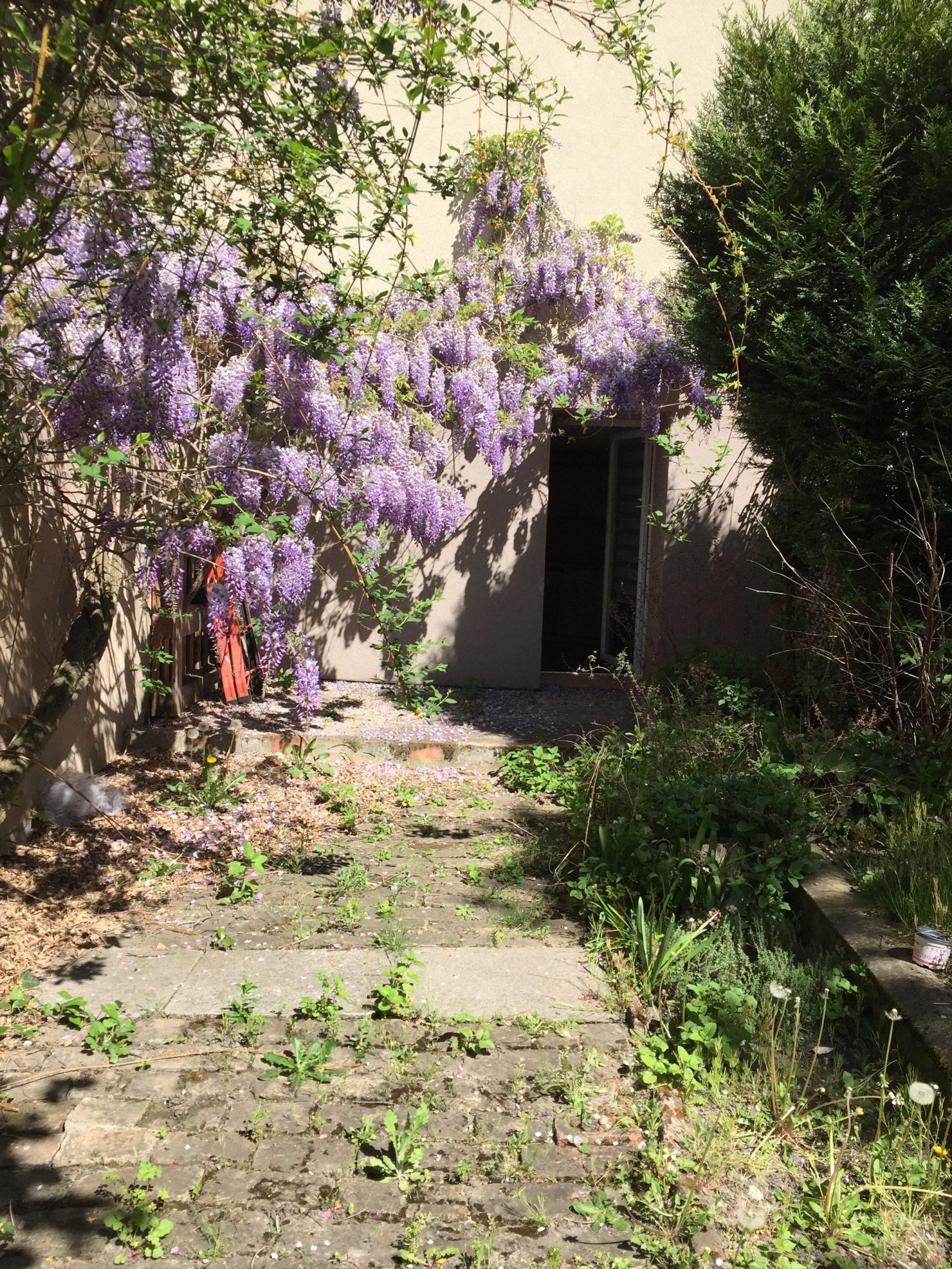 Strasbourg-NEUDORF, Appartement 39 m2 avec jardin privatif de 45 m2, sans vis à vis.
